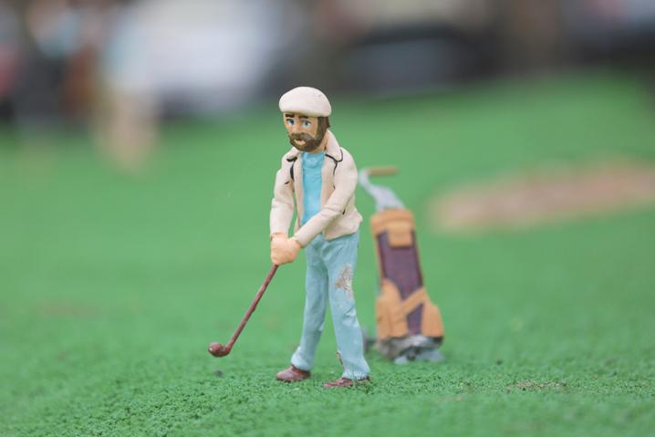 Merrivale Golfer